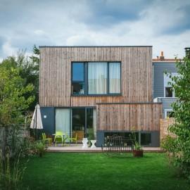 Construction : Maison en bois à Villeneuve d'Ascq