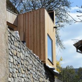 Extension: Maison individuelle à Piégut